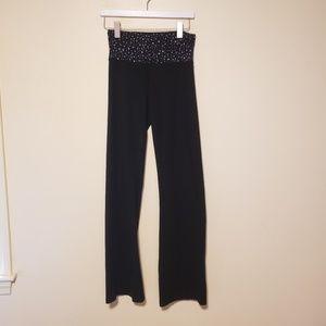 GUC, Victoria Secret Flare Fold Over Yoga Pants, M